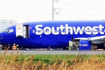 Southwest Airlines Fight 1380